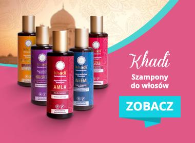Szampony Khadi